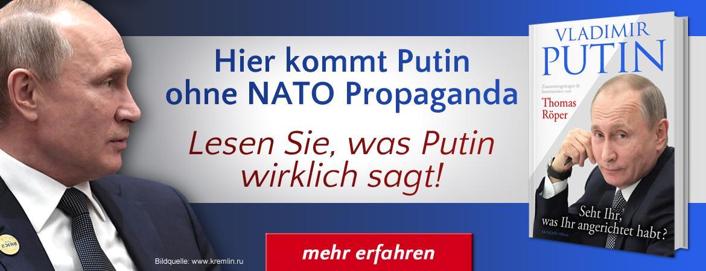 Vladimir Putin: Seht Ihr, was Ihr angerichtet habt?